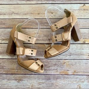 Faryl Robin x Free People Strappy Heeled Sandals
